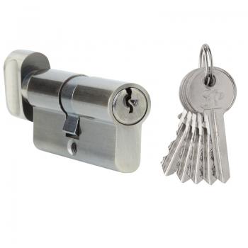 Цилиндр S. A. P. Design ключ-поворотник 30-30-AB