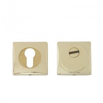 Броненакладка накладная цилиндровая SAP 111 Сuadro PB (золото)