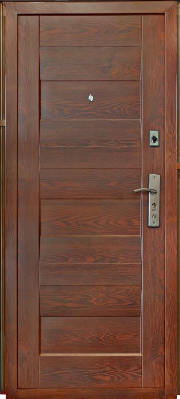 входная металлическая дверь ТР-С 58 бархатный лак внутреняя сторона