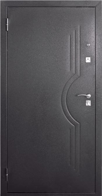 Входная металлическая дверь молоток/МДФ ТМ «Белорусский стандарт»  БС-6