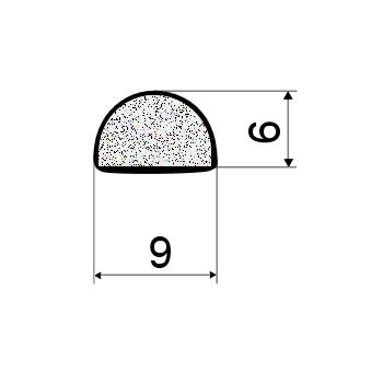 Дверной уплотнитель EKO-KS 346