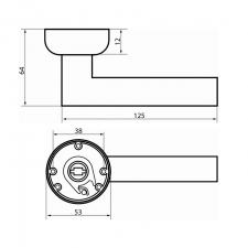 Схема Ручка раздельная S. A. P. Design 527 Priorita