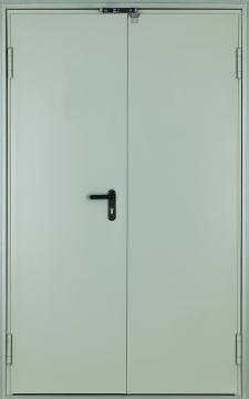 Дверь техническая двухстворчатая