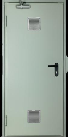 EI260 C5  одностворчатая с вентиляционной решеткой