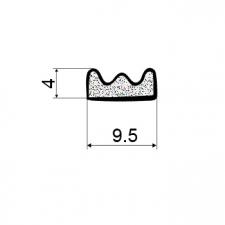 Дверной уплотнитель EKO-KS 338